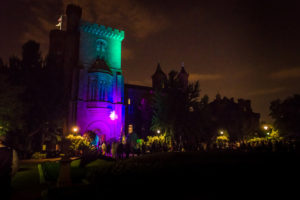 Party in the Enid A. Haupt Garden Friday night. (Photo: Smithsonian Associates)