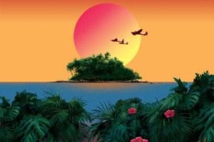 Olney Theatre performs <em>South Pacific</em> through Oct. 7. (Graphic: Olney Theatre)