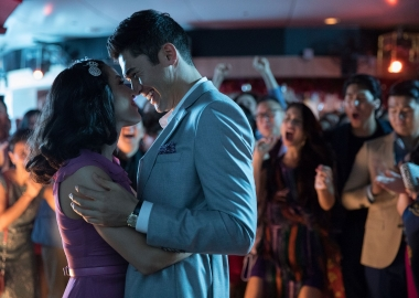 Crazy Rich Asians led at the box office again over the four-day with $28.58 million. (Photo: Warner Bros. Pictures)