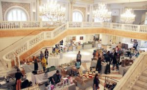 Artists and designers selling their wares in the Great Hall at the National Museum of Women in the Arts. (Photo: National Museum of Women in the Arts)