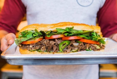 A photo of Taylor Gourmet's cheese steak hoagie. (Photo: Taylor Gourmet/Facebook)