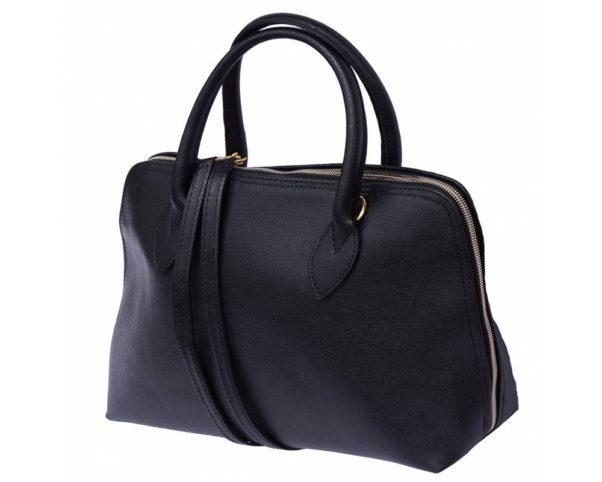 A black handbag. (Photo: Florence Leather Market)