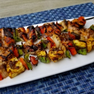 All Set Restaurant & Bar has added four jerk skewer dishes during September. (Photo: All Set)