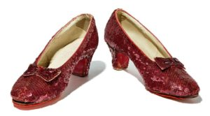 Doroothy's ruby red slippers from the Wizard of Oz. (Photo: National Museum of American History)