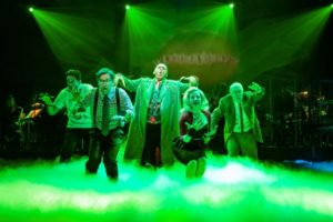 The cast in  scene from Little Shop of Horrors. (Photo: Jeremy Daniels)