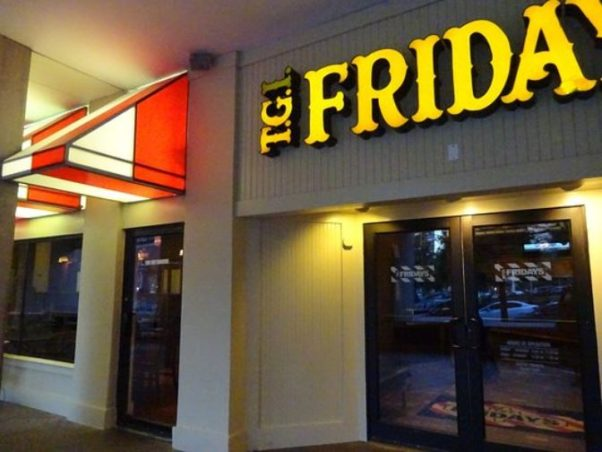 The front of the former TGI Friday in Foggy Bottom. (Photo: 1100PlumGrove/Trip Advisor)