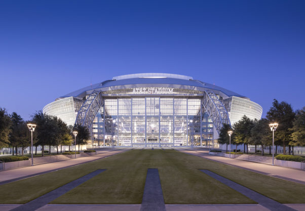 The outside of AT&T Stadium in Dallas. (Photo: AT&T Stadium)