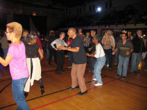 People dancing in Ritchie Coliseum at last year's College Park Blues Festival. (Photo: D.C. Blues Society/Flickr)