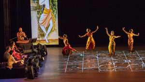 The Ragamala Dance Company perfroming Written in Water. (Photo: Kennedy Center)