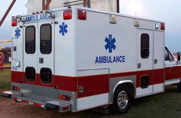 A parked ambulance. (Photo: Julie Elliott-Abshire/FreeImage)