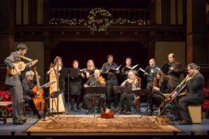 The Folger consort performing. (Photo: Teresa Wood)