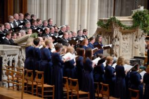 Members of the Cathedral Choral Society performing last Christmas. (Photo: Cathedral Choral Society)