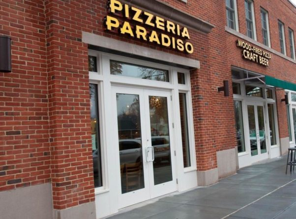 Photo of the outside of Pizzeria Paridiso Spring Valley. (Photo: Pizzeria Paridiso)