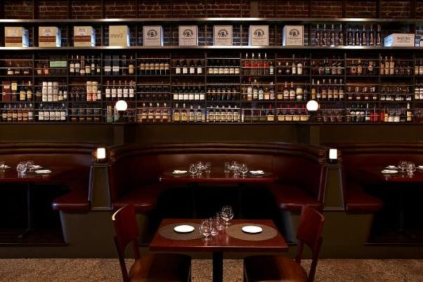 The Jack Rose main dining room and bar. (Photo: Jack Rose Dining Saloon)