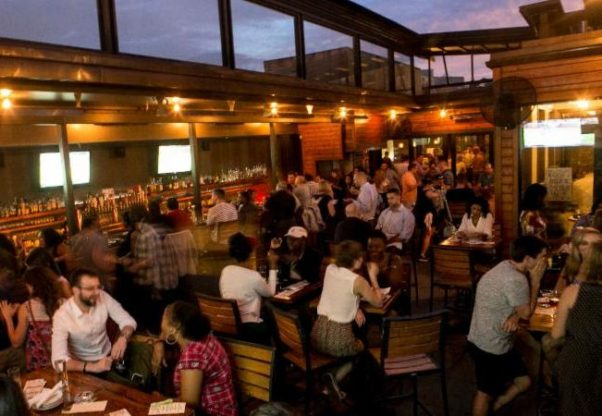 Photo of the Jack Rose rooftop terrace. (Photo Jack Rose Dining Saloon)