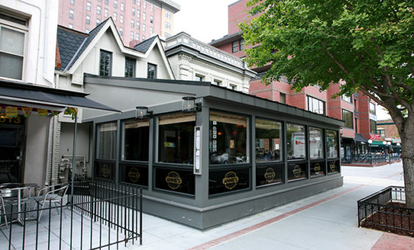 The outside of Annie's Paramount Stekhouse. (Photo: James Beard Foundation)