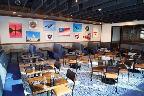 The dining room at the new Circa Navy Yard. (Photo: Circa)