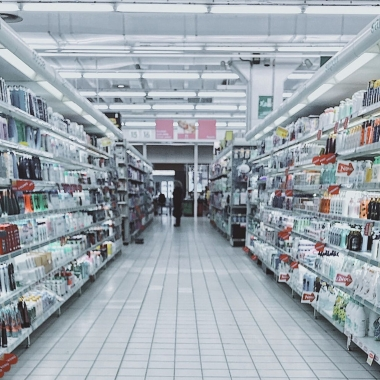 The cosmetics aisle at a dollar store. (Photo: Oleg Mag/Pexels)