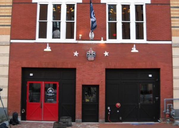 The outside of Sixth Engine restaurant in Mount Vernon Triangle. (Photo: PoPville)