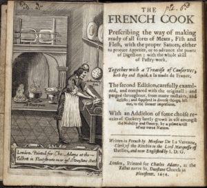 A page from The French Cook. (Photo: Folger Shakespeare Library)