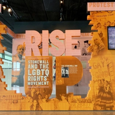 The enterance to Rise Up exhibit at the Newseum. (Photo: Newseum)