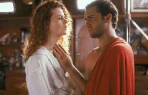 Nicole Kidman with a man in a scene from Dead Calm. (Photo: Phillip Noyce)