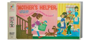 A photo of the board game Mother's Helper. (Photo: National Museum of American History)