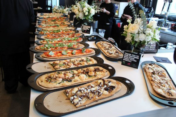 Pizza buffet full of different kinds of pizza. (Photo: Mark Heckathorn/DC on Heels)