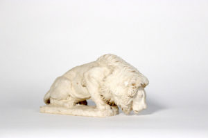 A lion marquette for the Law Enforcement Memorial. (Photo: Raymond Kaskey)