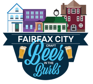 Beer in the Burbs logo. (Graphic: Fairfax City)