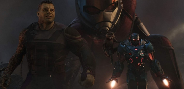 The Hulk, Ant-Man, Rocket and War Maching going into battle. (Photo: Marvel Studios)