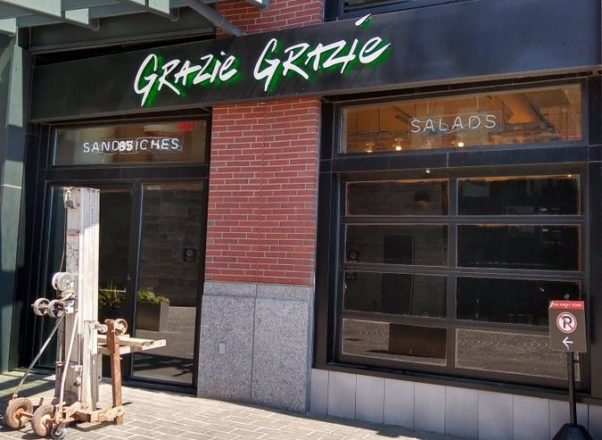The outside of Grazie Grazie (Photo: Eat_DC/Twitter)