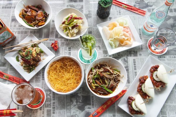 Various dishes on a table at Hawkers. (Photo: Hawkers)