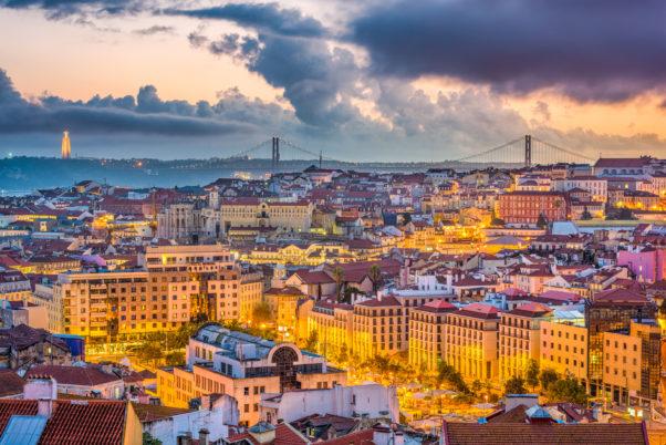 Lisbon, Portugal skyline after sunset. (Photo: Supplied)