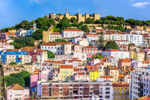 Lisbon, Portugal skyline at Sao Jorge Castle. (Photo: Supplied)