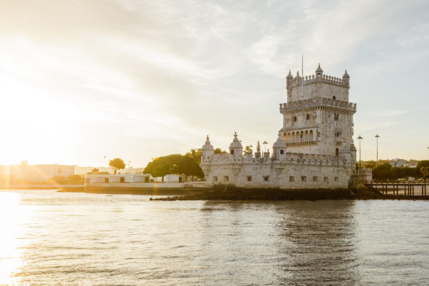 River view at sunset of Belem Tower in Lisbon, Portugal. (Photo: Supplied)