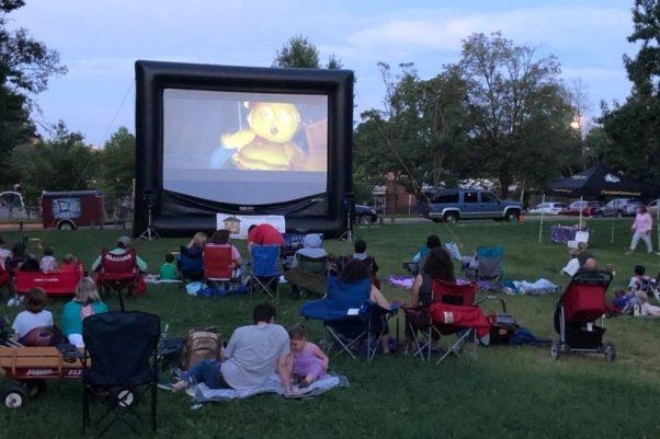 Spectators watch a movie at Rosemone Reel. (Photo: Rosemont Reel/Facebook)