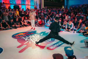 Hazmat and Sheopatra compete at the Red Bull Dance Your Style Qualifier in Honolulu on June 15. (Photo: Jordan Nicholson/Red Bull Content Pool)