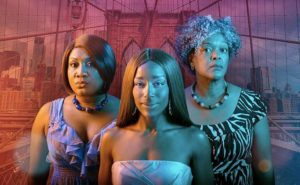 Three African-American women standing together. (Photo: Mosaic Theater Co.)