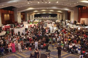 People attending The Ubiquitous Women's Expo at the convention center last year. (Photo: The Ubiquitous Women's Expo)