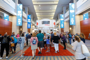 Crowds pour into the Washington Convention Center for the National Book Festival. (Photo: Shawn Miller/Library of Congress)