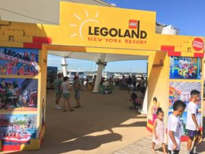 Legoland Resort New York enterance to the display under a tent. (Photo: Legoland New York)