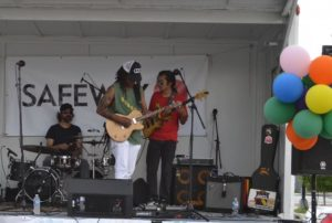 A band plays at Celebrate Petworth. (Photo: Celebrate Petworth)
