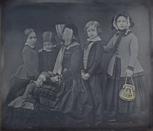 Queen Victoria and Children, January 19, 1852, daguerreotype with applied color by William Edward Kilburn. (Photo: National Gallery of Art)