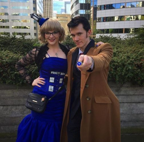 Dr. Who and the Tardis (Photo: chlorine_17/Instagram)