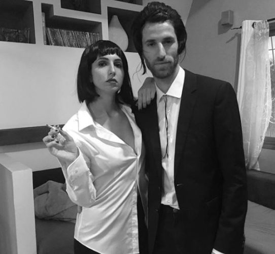 Vincent Vega and Mia Wallace from <em>Pulp Fiction</em> (Photo: or_chapel/Instagram)
