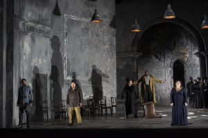 Cast of Othello on stage. (Photo: Kennedy Center)