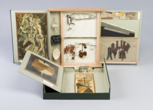 """The Box in a Valise (Series E) by by Marcel Duchamp. (Photo: Hirshhorn Museum)"