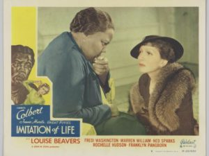 "Lobby card for ""Immitation of Life"". (Photo: NMAAHC)"