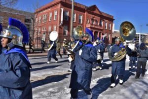 The Ballou High School Marching band in last year's parade. (Photo: MLK Holiday DC)